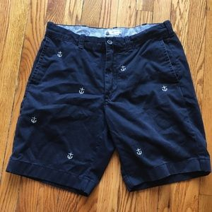 JCrew Anchor Down! Anchor shorts, size 33.